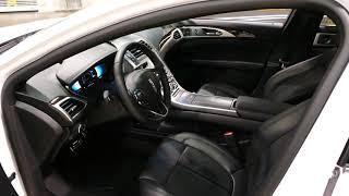 New 2019 Lincoln MKZ Luxury Sedan Interior Tour - 2018 OC Auto Show, Anaheim, CA