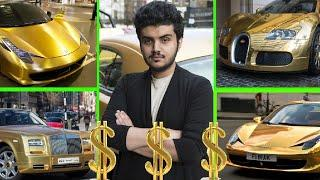 7 Luxurious Gold Car Owners ✮
