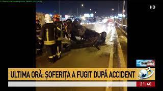 Două accidente grave în Nordul Capitalei