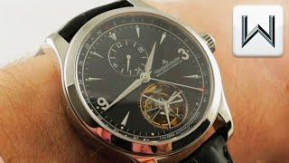 Jaeger-LeCoultre Master Grand Tourbillon Platinum (Q1666470) Luxury Watch Review