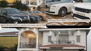 Menzgold NAM1's  luxury cars and mansion at Trasacco