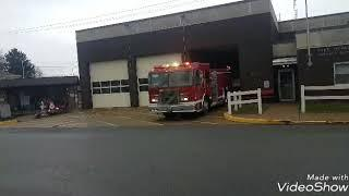 Rescue 7531 engine 7511 + on scene + pull over