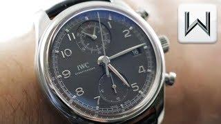 IWC Portugieser Chronograph Classic In House 3904-04 Luxury Watch Review