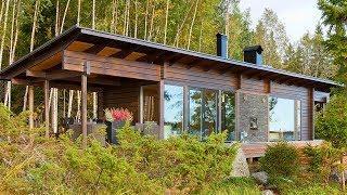 Luxury Minimalistic Scandinavian Sauna Cabin Help Your Dreams Do Come True
