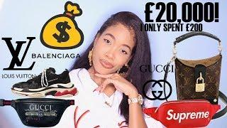 I BOUGHT £20,000 WORTH OF LUXURY DESIGNER GOODS FOR £200 ????| WHAT I BOUGHT IN CHINA + THAILAND