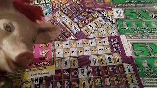 Big Daddy £4 Million,Scratchcard Monday  game..CASH SPECTACULAR..LUXURY LINES..5X CASH