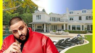 DJ Khaled House Tour $10000000 Luxury Expensive Mansion He Bought From Robbie Williams