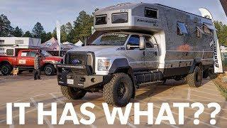 EarthRoamer's New $1.5 Million Luxury Overland Rig - Detailed Look at Overland Expo West