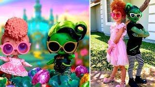 Куклы #LOL в реальной жизни 9 часть ???? Real Life LOL Surprise Dolls Part 9