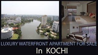 Luxury Waterfront Apartment for sale in Maradu | Kochi | Fully Furnished |