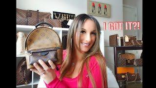 LOUIS VUITTON PALM SPRINGS MINI UNBOXING REVIEW ????❤️