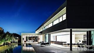 Choreographed Contemporary Modern Luxury Residence in Tel Aviv, Israel (by Pitsou Kedem Architects)
