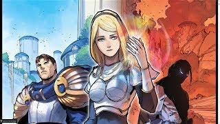 Lux & Garen Comic Issue #1 - League of Legends