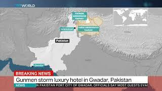 Gunmen attack luxury hotel in Pakistan's Gwadar city