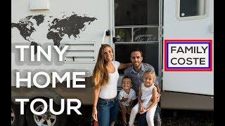 LUXURY OFF GRID TINY HOME FOR 25K! | Ultimate Family Goals