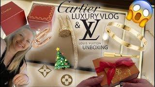Cartier Luxury Shopping Vlog & Louis Vuitton Unboxing (Limited Edition Item)+ Cartier Juste Un Clou