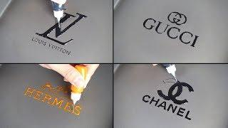 Luxury Bag Brand Logo - LOUIS VUITTON, HERMES, GUCCI, CHANEL