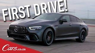 Mercedes-AMG GT4 Launch Review - First Drive in Merc's latest Super Saloon