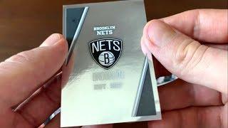 NBA Panini Sticker Pack Opening #1