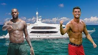 Luxury Lifestyle Of CRISTIANO RONALDO vs LEBRON JAMES 2018