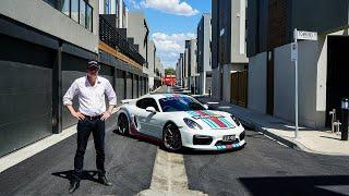 Porsche Cayman GT4 - Lorbek Friday Drive
