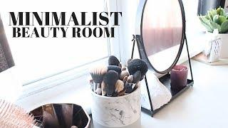MINIMALIST BEAUTY ROOM/OFFICE TOUR | JADELUX
