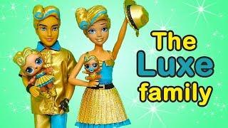 LOL Families ! The Luxe Family Plays Hide & Seek | Toys and Dolls Fun Opening LOL Under Wraps |SWTAD