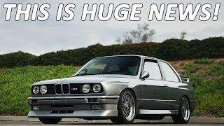BMW IS MAKING THEIR OLD CARS AGAIN!!! (Kind of)
