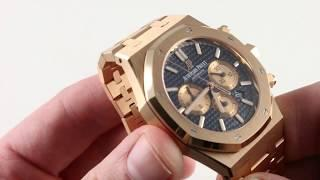 Pre-Owned Audemars Piguet Royal Oak Chronograph 26331OR.OO.1220OR.01 Luxury Watch Review