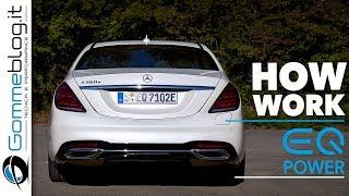 Mercedes Benz S 560e Hybrid Luxury Car - HOW WORK (Engine + Transmission)