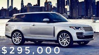 2019 Land Rover Range Rover SV Coupe - Design