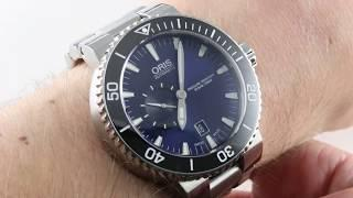 Oris Aquis Small Second (743 7673 4135) Luxury Watch Review