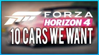 10 Cars we want in Forza Horizon 4