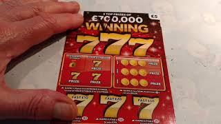 New 777....Scratchcards...LUXURY LINES...and More......Here We GooooOOOOO!!!