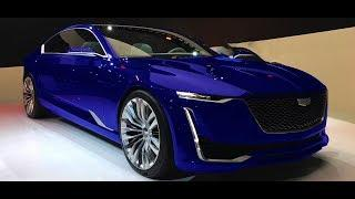 NEW 2019 - Cadillac Escala 4.2L V8 500 hp Super Luxury Sedan - Interior and Exterior 2160p 4K