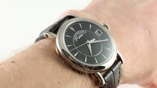 Patek Philippe Calatrava Officer's Watch 5153G-001 Luxury Watch Review