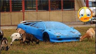 60 Abandoned Supercars and Luxury cars around the World 2018 Part.55 - Ferrari Lamborghini Porsche