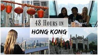 48 Hours in Hong Kong | Travel Vlog | Lux Life