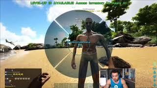 Tyler1 plays ARK: Survival Evolved on his 11VS11 Server [WITH CHAT] [June 30, 2018]