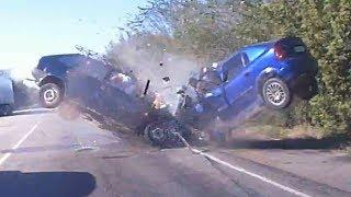 Deadly Car Crashes Caught on Tape Compilation 2018 || Brutal Crashes 2018