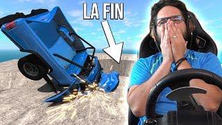 JE M'ÉCLATE À LA FIN! | BeamNG + G27