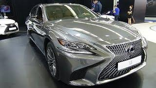 2018 Lexus LS 500h Luxury - Exterior and Interior - Zagreb Auto Show 2018