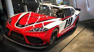 2019 Toyota Supra NASCAR Unveiling with Rutledge Wood