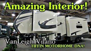 VanLeigh Luxury Fifth Wheels loaded with Tiffin DNA!