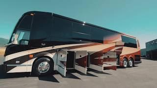 Transitional-Style Comfort in a Luxury Motorhome: Marathon Show Coach #1288