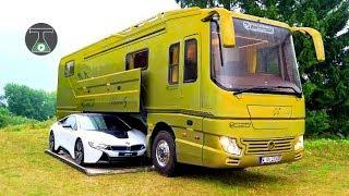 6 Luxury Motor Homes You Need to See /  लक्जरी मोटर होम जिन्हें आप को देखना चहिये