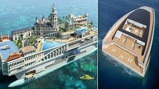 luxury घर से कम नहीं है अंबानी का ये पानी पर चलता फिरता महल !