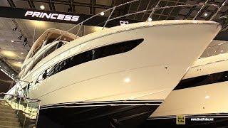 2019 Princess F62 Luxury Motor Yacht - Deck and Interior Walkaround - 2019 Boot Dusseldorf