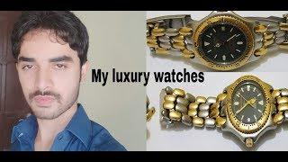 My Luxury Watches Collection of Border Items