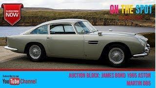 AUCTION BLOCK: JAMES BOND 1965 ASTON MARTIN DB5